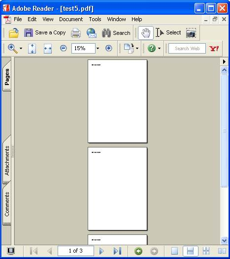 BE THE CODER > PDF > iTEXT Examples > New Page Example